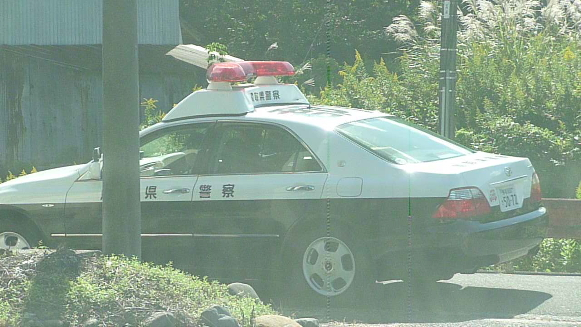 131017 仕事先鳥取県警察パトカー(2)(1)