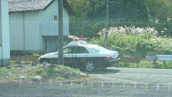 131017 仕事先鳥取県警察パトカー(3)(1)
