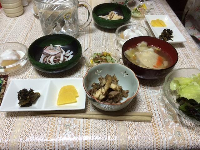 10,31晩ご飯1