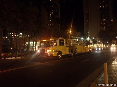 消防車ホノルル