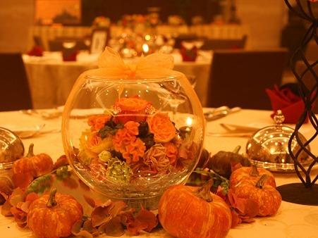 ハロウィン テーブルコーデ2