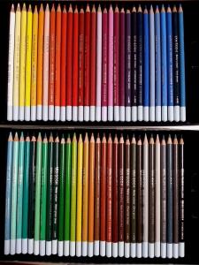 60色水彩色鉛筆