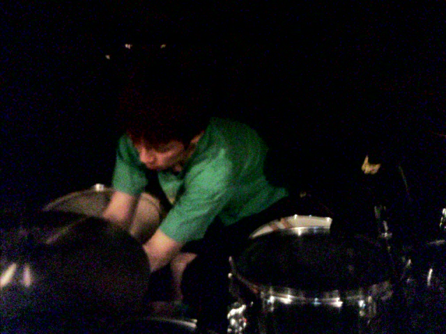 すんません 暗くて良くわからないですがドラム山ちゃん ナイス仕事!
