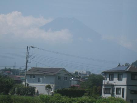 わたしも富士山、見たいよ~