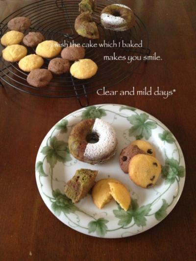 焼きドーナツ&ドロップクッキー