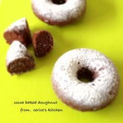 ココアの焼きドーナツ
