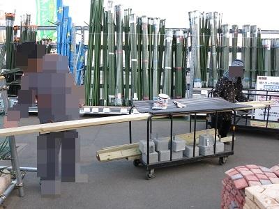薪棚DIYに挑戦 (3)