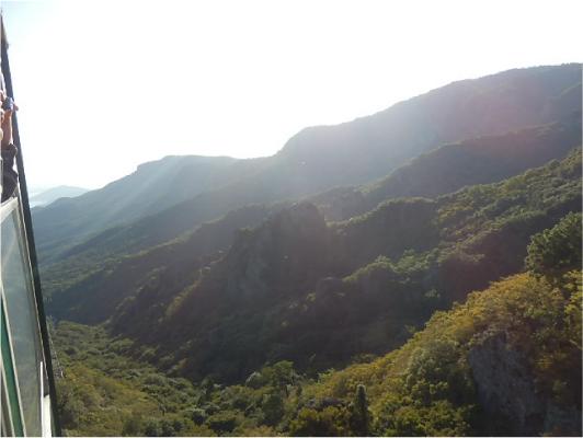 日本三大渓谷美