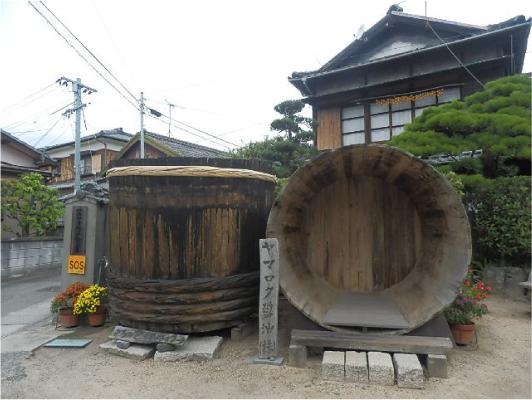 ヤマロク醤油木桶