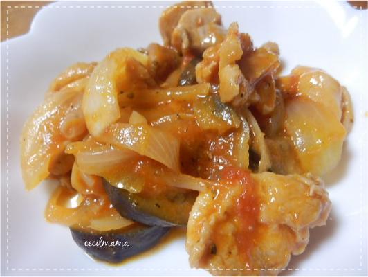 鶏もものトマト煮_1
