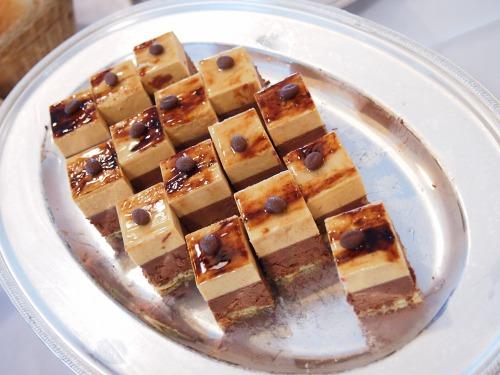 13チョコキャラメルムースケーキ?@OKURA FRONTIER HOTEL EBINA
