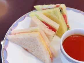 サンドイッチ02@OKURA FRONTIER HOTEL EBINA