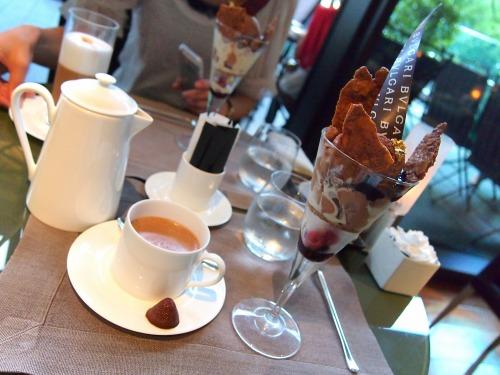 テーブル02@BVLGARI IL CAFE