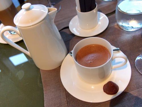 ホットチョコレート01@BVLGARI IL CAFE