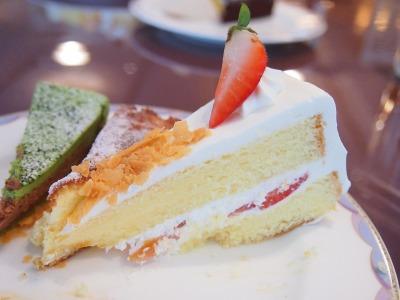 02ショートケーキ02@OKURA FRONTIER HOTEL EBINA