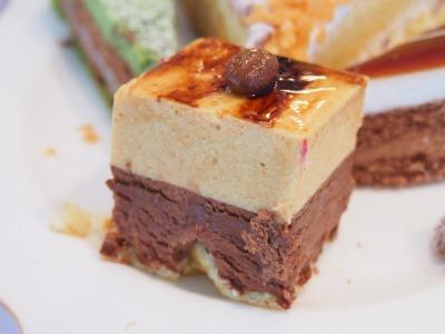 13チョコキャラメルムースケーキ?02@OKURA FRONTIER HOTEL EBINA