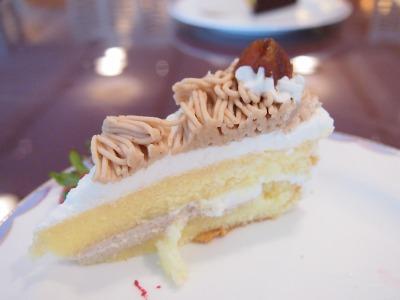 01マロンケーキ02@OKURA FRONTIER HOTEL EBINA