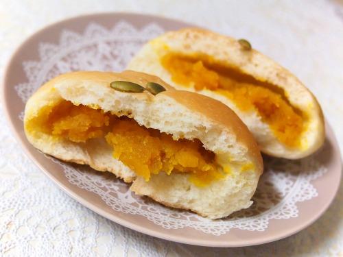 かぼちゃあんぱん03@パンとお菓子のメルシービアン