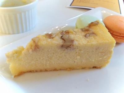 ブルーチーズとクルミのチーズケーキ@ハッピースイーツオーケストラ_2013年9月