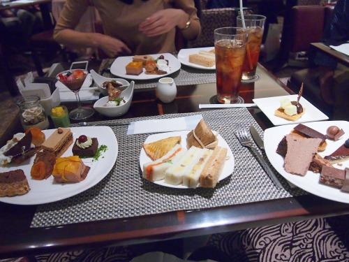 テーブル@Hilton TOKYO 20130929