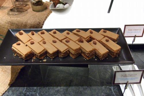 チョコレートミルフィーユ01@Hilton TOKYO 20130929