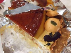 かぼちゃのプリンタルト02@Dolce MariRisa 2013年10月