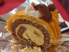 かぼちゃのロールケーキ03@Dolce MariRisa 2013年10月