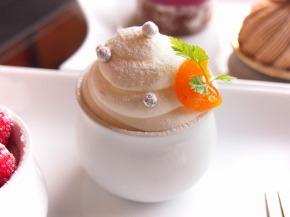 アプリコットのレアチーズケーキ01@フォレスト・イン 昭和館