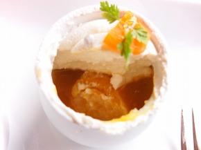 アプリコットのレアチーズケーキ02@フォレスト・イン 昭和館
