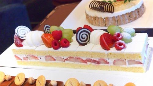 苺のショートケーキ02‐01@フォレスト・イン 昭和館