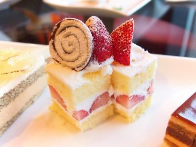 苺のショートケーキ02‐02@フォレスト・イン 昭和館