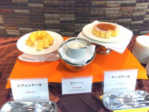ビュッフェ台01@東京ベイ舞浜ホテル FINE TERRACE 2013 秋の味覚スイーツビュッフェ