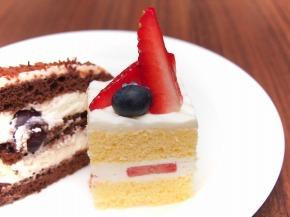 苺のショートケーキ02@東京ベイ舞浜ホテル FINE TERRACE 2013 秋の味覚スイーツビュッフェ