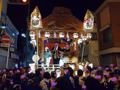 双柳山車@飯能祭り2013年秋