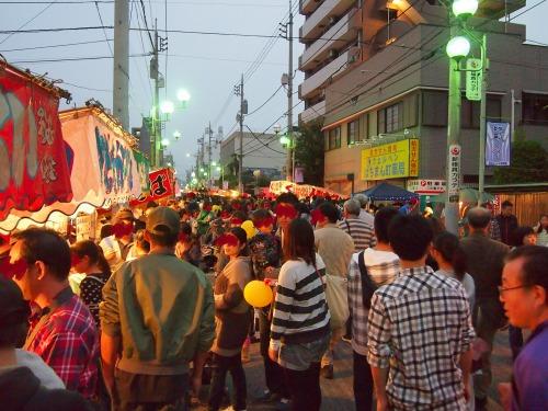 景色@飯能祭り2013年秋