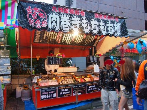 肉巻きもちもち棒01@飯能祭り2013年秋