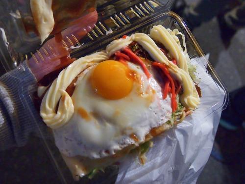 お好み焼き@飯能祭り2013年秋