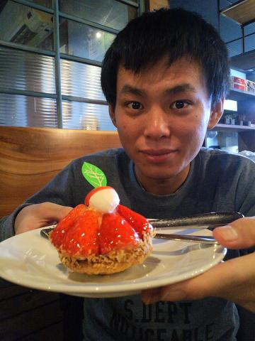 拓磨とケーキ30