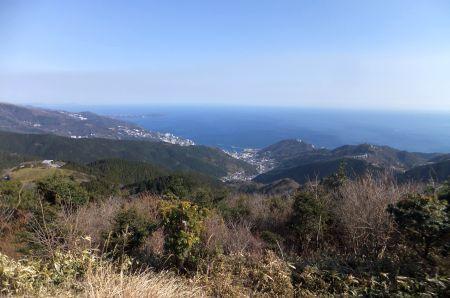 展望台からの大海原