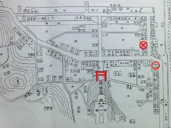 昭和10年の江田島村役場