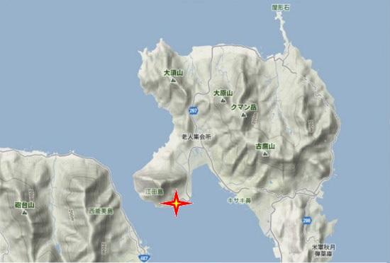 1)江田島町北部・津久茂港