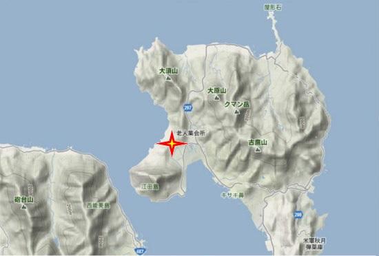 1)江田島町北部・青年の家