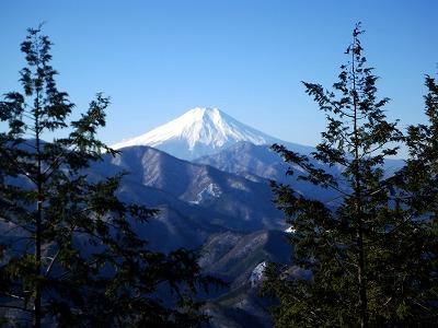 高畑山からの富士