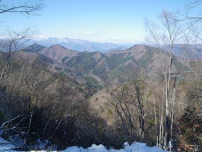 倉岳山と高畑山