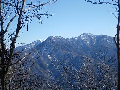 蛭ヶ岳と檜洞丸