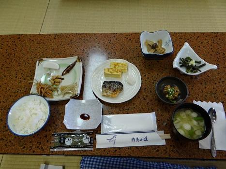 20130602 駒鳥山荘朝食