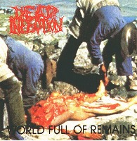 s-Dead Infection - World Full Of Remains - Front