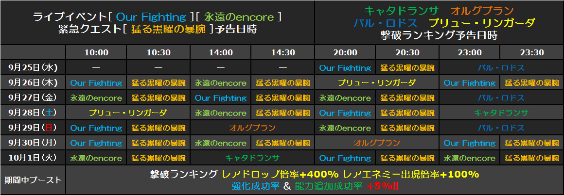 予告イベント(20130925~)