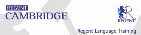 regent cambridge logo
