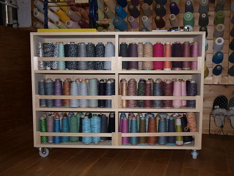 完成しました糸棚